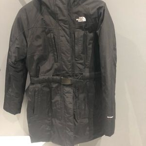 North Face Womens long Parka Hyvent technology